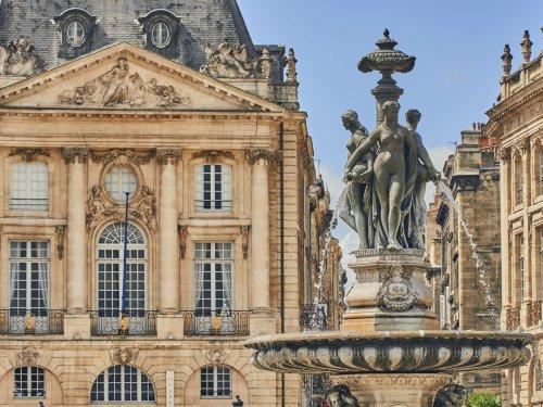 The city of Bordeaux a UNESCO heritage