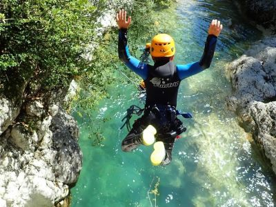 Canyoning in the Loup Valley