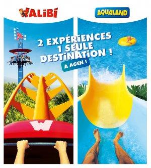 Forfait PACK Comfort Walibi ou Aqualand à partir de 37 €/pers