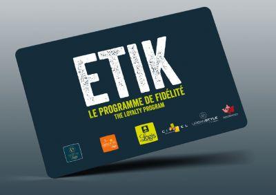 Earn fidelity points with the Logis ETIK program