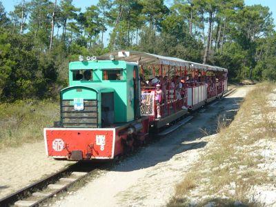 Le p'tit train de Saint-Trojan sur l'île d'Oléron
