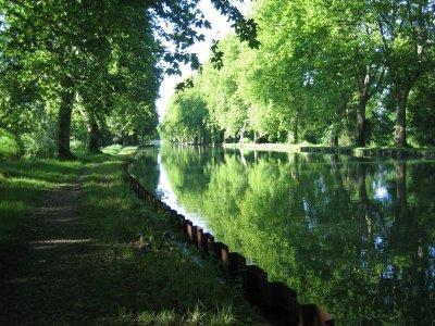 Flâner à Eschau au bord de l'eau à pied ou en vélo