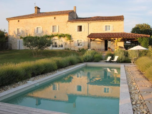 Lacalm luxury stone house rental south west France 17