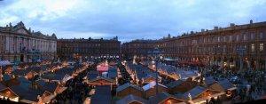 Grand marché de Noël de Toulouse!