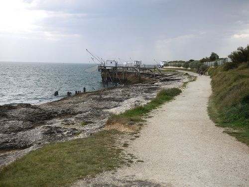 Le bord de mer en Charente-Maritime