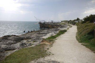 hotel bord de mer charente maritim sentier coYtier de Saint Palais sur Mer
