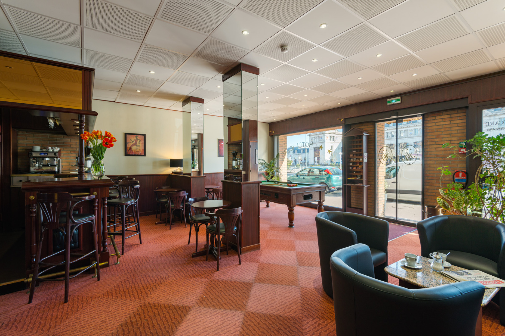 Services at the hotel icare 2 star hotel in toulouse for Hotels toulouse
