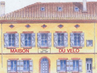 Nouveau à Toulouse : La Maison du vélo - Juste à coté de l'hôtel Icare