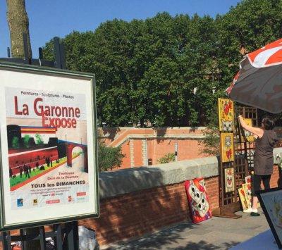 La Garonne expose tous les dimanches