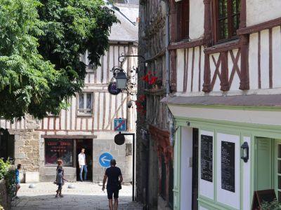 Saint Brieuc town centre