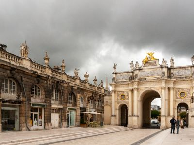 Nancy and its surroundings