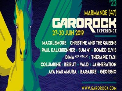Festival Garorock à Marmande