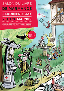 Salon du livre de Marmande 2019