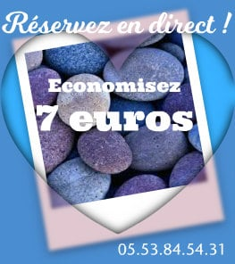 Economisez de 7 à 10 € en réservant en direct !