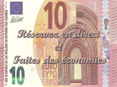 10€ moins cher en direct