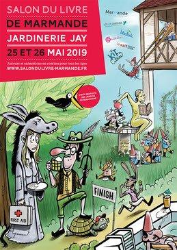 affiche salondulivre de marmande 2019