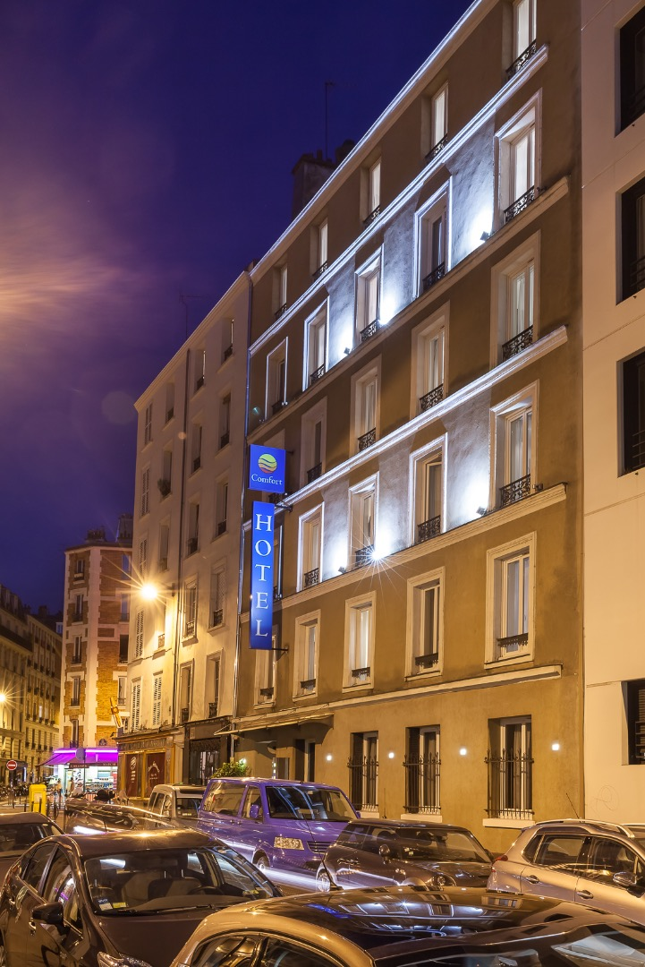 Galerie photos hotel lamarck paris montmartre for Hotel trouver