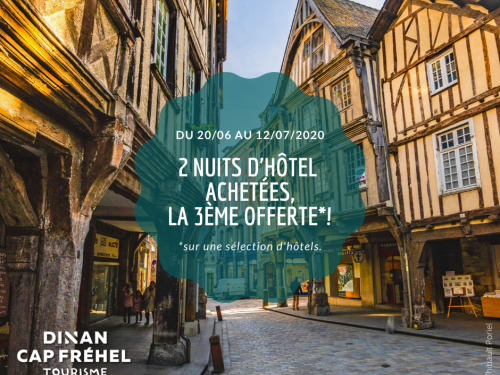 Visuel Dinan OFFRES HOTELS 23 nuits 1