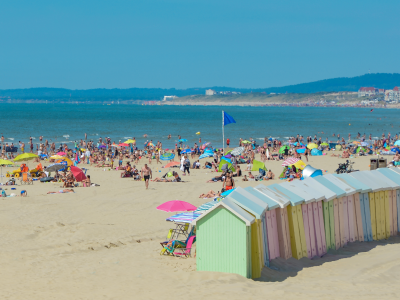 Berck et sa plage de sable fin
