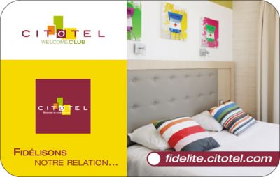 Become a loyal customer to Citotel