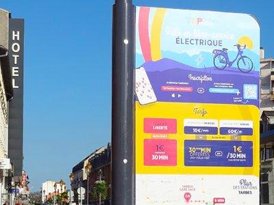 Découvrez Tarbes en vélo électrique
