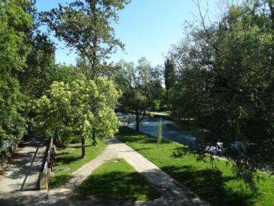Balades et jogging le long de l'Adour sur Le Caminadour
