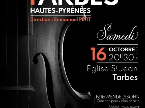 2021 10 16 Tarbes Concert Affiche Perso 1