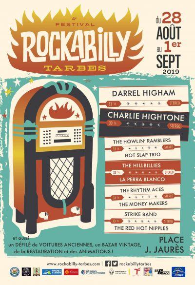 4ème Festival de Rockabilly à Tarbes - Bons plans et petits prix à l'Hôtel de la Marne