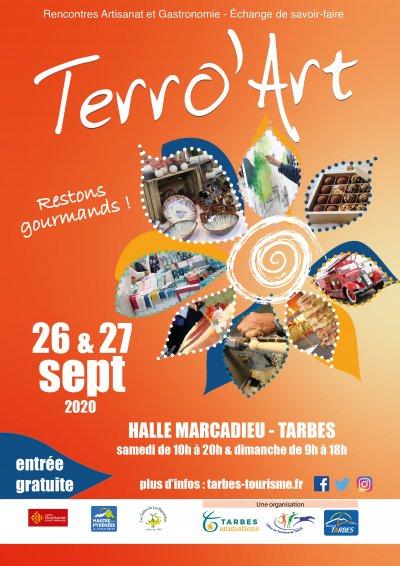 TERRO ' ART 2020  du 26 au 27 septembre...Consommez local..