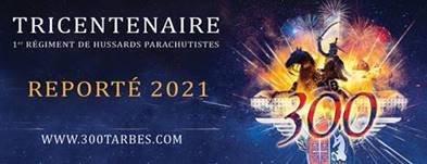 Les 300 ans du 1er RHP - Réporté en 2021...dates à préciser