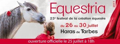 Festival du cheval à Tarbes - Festival Equestria du 26 juillet au 30 juillet 2017 - Haras national de Tarbes
