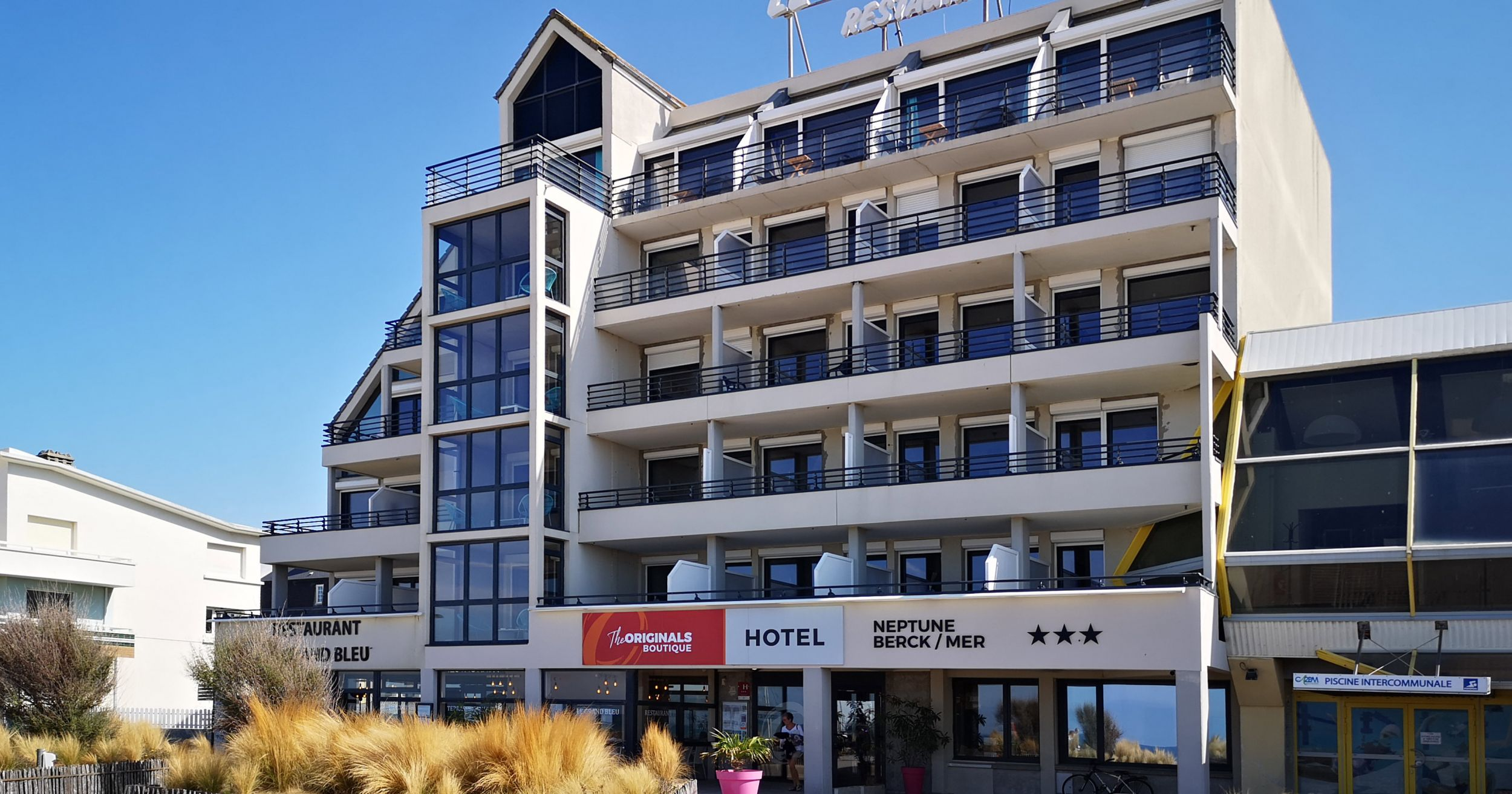 Sea Front Hotel In Berck Sur Mer Facing The Beach Hotel Neptune Official Site
