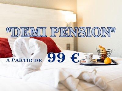 """Promo """" Demi Pension """""""