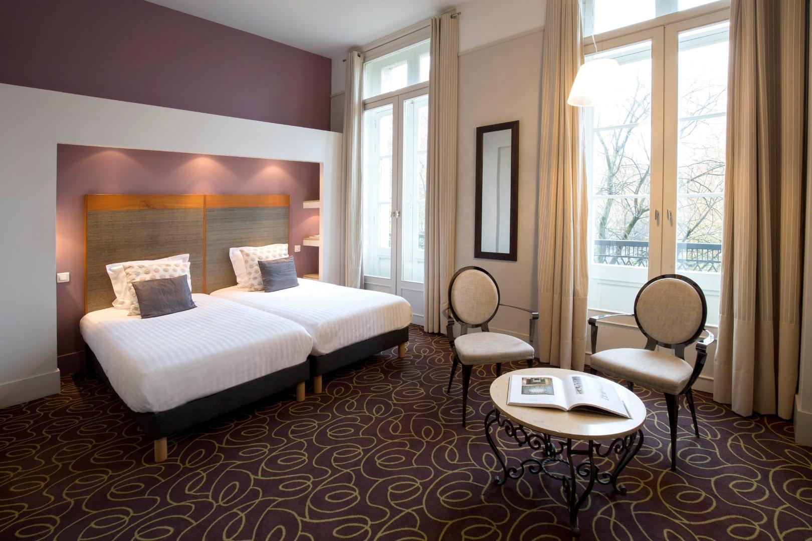 H tel de normandie h tel 4 toiles bordeaux centre for Chambre hotel normandie