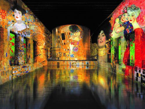 Expositions Gustav Klimt et Paul Klee aux Bassins des Lumières