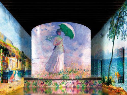Monet, Renoir, Chagall et Klein aux Bassins des Lumières