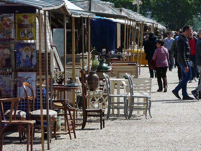 Foire Broquante Bordeaux place quinconces