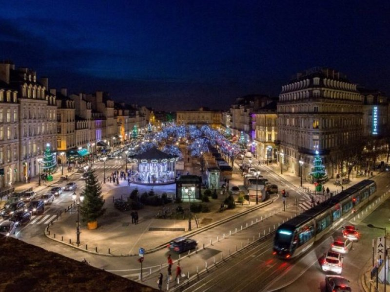 marche de noel hotel de Normandie