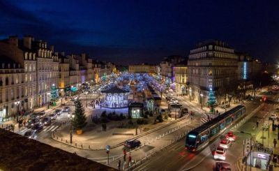 Le Marché de noël à Bordeaux