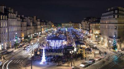 Marché de Noël de Bordeaux - Christmas market in Bordeaux