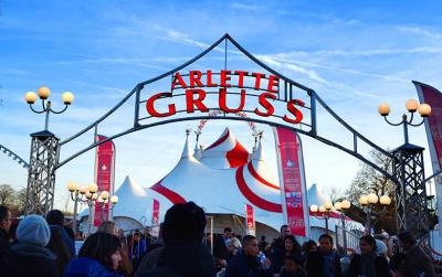 L'étoile en héritage par le cirque Arlette Gruss