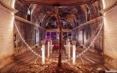 Exposition de Gonzalo Borondo au Temple des Chartrons