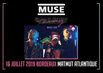 Muse en concert au Matmut Atlantique