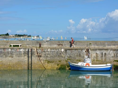 The isles of the Charente-Maritime