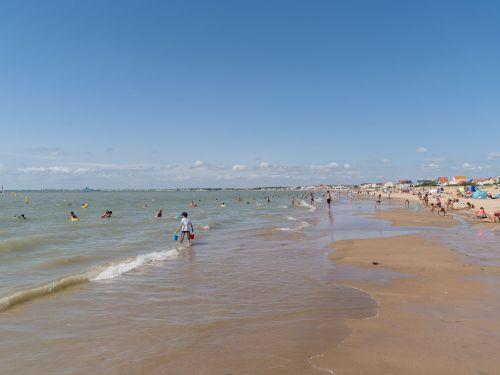La plage de Châtelaillon-Plage