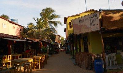 Boutiques et Restaurants a  Jericoacoara