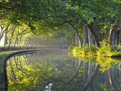 Un circuito romántico por el Canal du Midi