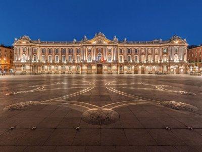 La Place du Capitole, l'épicentre de Toulouse