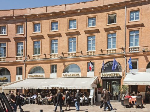 La place Wilson et le marché Victor Hugo