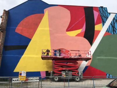 Rose Béton, Biennale du Street Art
